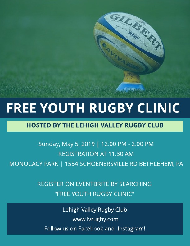 Youth Rugby Clinic 2019